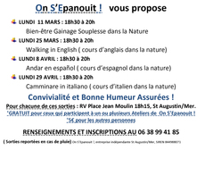 Programme On S'Epanouit